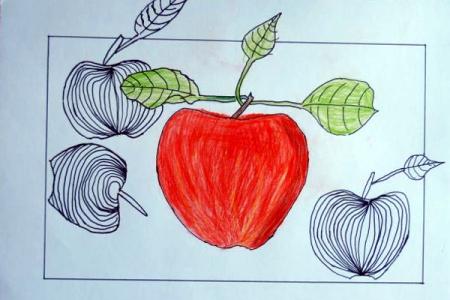 Hortenzie a jablka