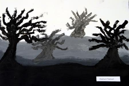 Stromy vmlze