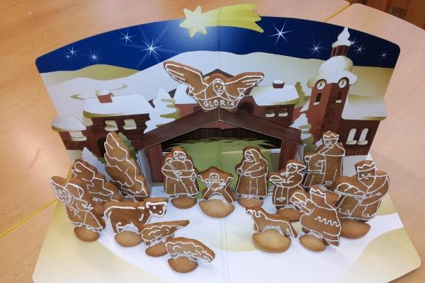 Vánoční Betlém u předškoláků