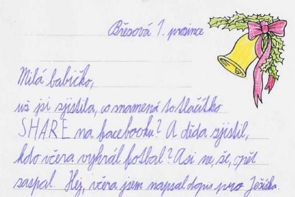 Dopisy prarodičům