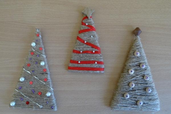 Vánoční stromečky - vyrobte si pěknou vánoční ozdobu